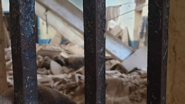 مدھیہ پردیش: بارش کے دوران ضلع جیل کی دیوار منہدم، 22 قیدی زخمی، 2 کی حالت نازک