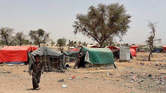 یمن کے ماریب میں جھڑپ ، فضائی حملے میں 50 ہلاک