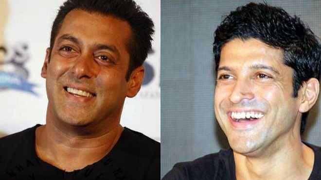 سلیم ۔ جاوید کی جوڑی پر بننے والی فلم میں سلمان خان کے ساتھ نظر آئیں گے فرحان اختر