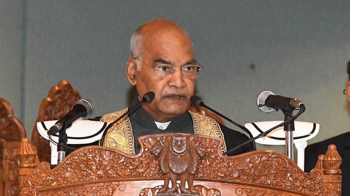 صدر رام ناتھ کوند، تصویر ٹوئٹر @rashtrapatibhvn