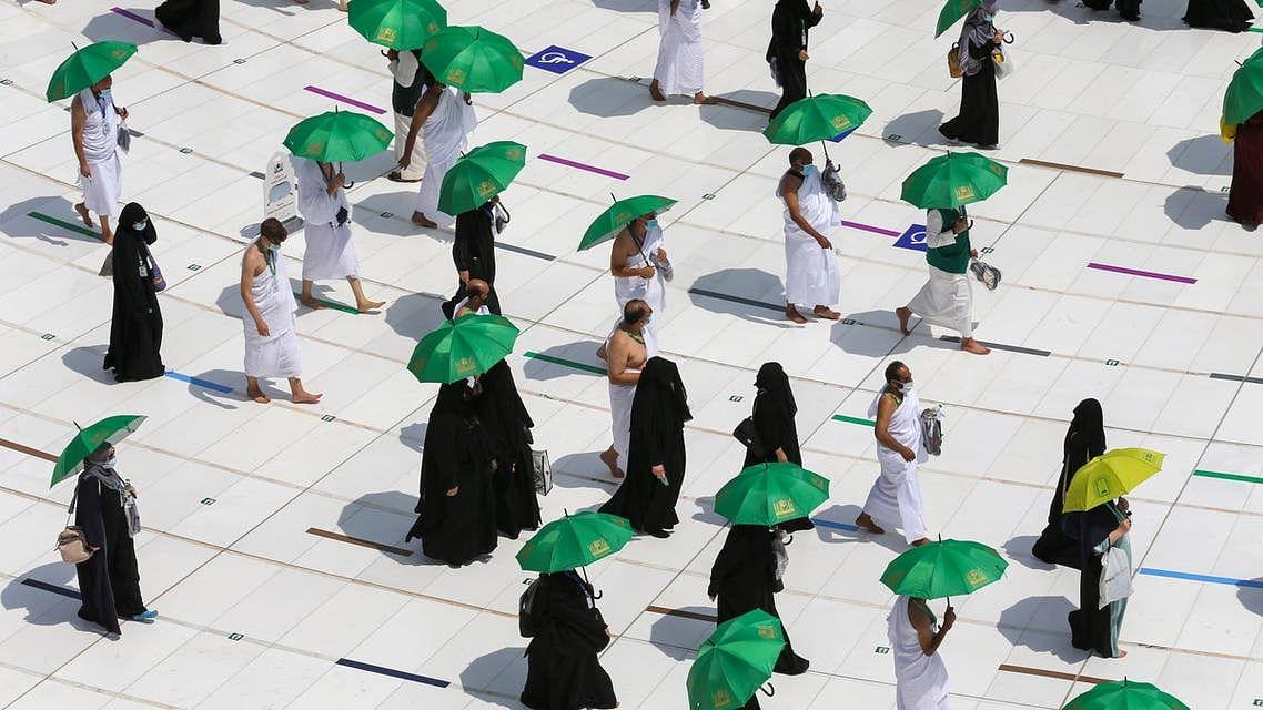 حج 2021: حجاج کرام نے طواف قدوم کا فریضہ انجام دیا، رکن اعظم وقوفِ عرفہ کل ادا ہوگا