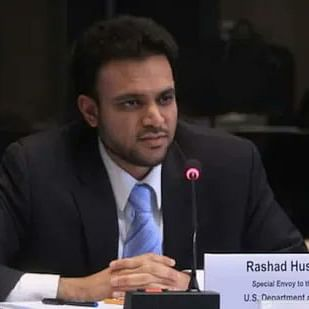 راشد حسین / تصویر ٹوئٹر