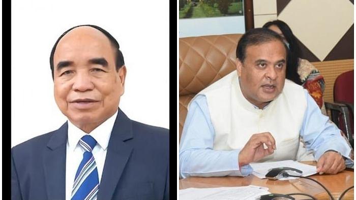 میزورم نے آسام کے وزیر اعلی سمیت کئی افسران کے خلاف کیا کیس درج
