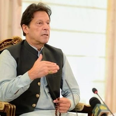 پاکستانی وزیر اعظم عمران خان کی فائل تصویر آئی اے این ایس