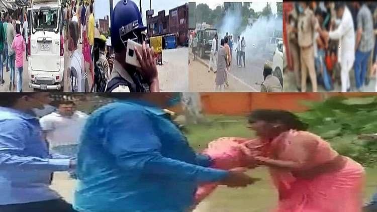 بلاک پرمکھ الیکشن تشدد: 'بی جے پی نے جمہوریت کو اپنے جنگل راج سے کچل دیا'