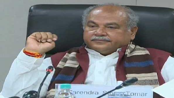 زرعی اصلاحات قوانین سے زراعت کو تقویت حاصل ہوگی: نریندر تومر