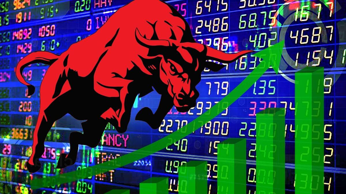 دو ہفتوں کی گراوٹ کے بعد اسٹاک مارکیٹ میں آئی تیزی