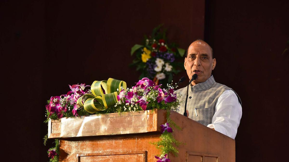 دنیا میں رونما ہونے والی تبدیلیاں ہندوستان کے لیے باعث تشویش: راج ناتھ