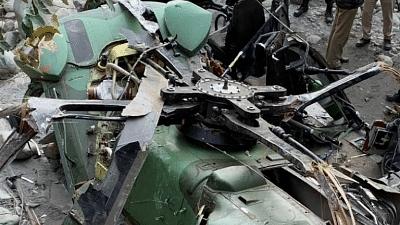 جموں و کشمیر: کٹھوعہ میں فوجی ہیلی کاپٹر گر کر تباہ، پنجاب کے پٹھانکوٹ سے بھری تھی پرواز