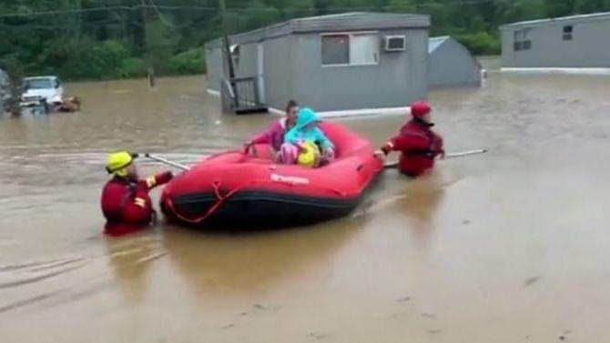 ٹینیسی سیلاب: 20 سے زائد افراد ہلاک، 50 لاپتہ