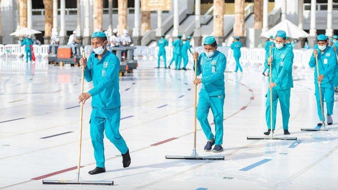 مسجد الحرام کی صفائی