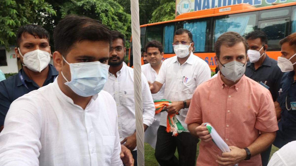 راجیو گاندھی کے یوم پیدائش پر این ایس یو آئی نے پورے ملک میں 'خون عطیہ کیمپ' منعقد کیا