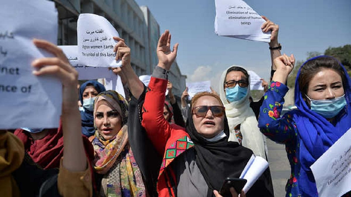 افغان خواتین، تصویر یو این آئی