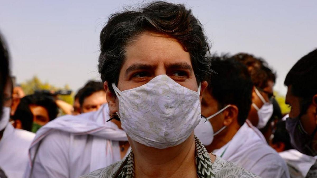 پرینکا گاندھی، تصویر ٹوئٹر @INCIndia