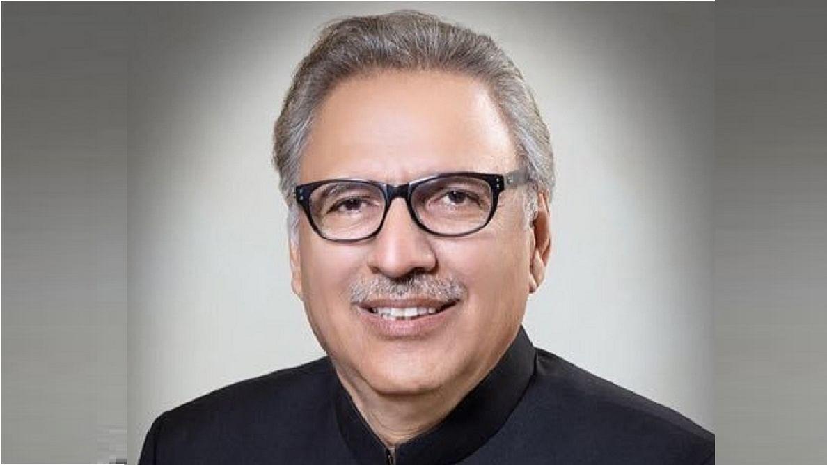 پاکستانی صدر عارف علوی، تصویر آئی اے این ایس