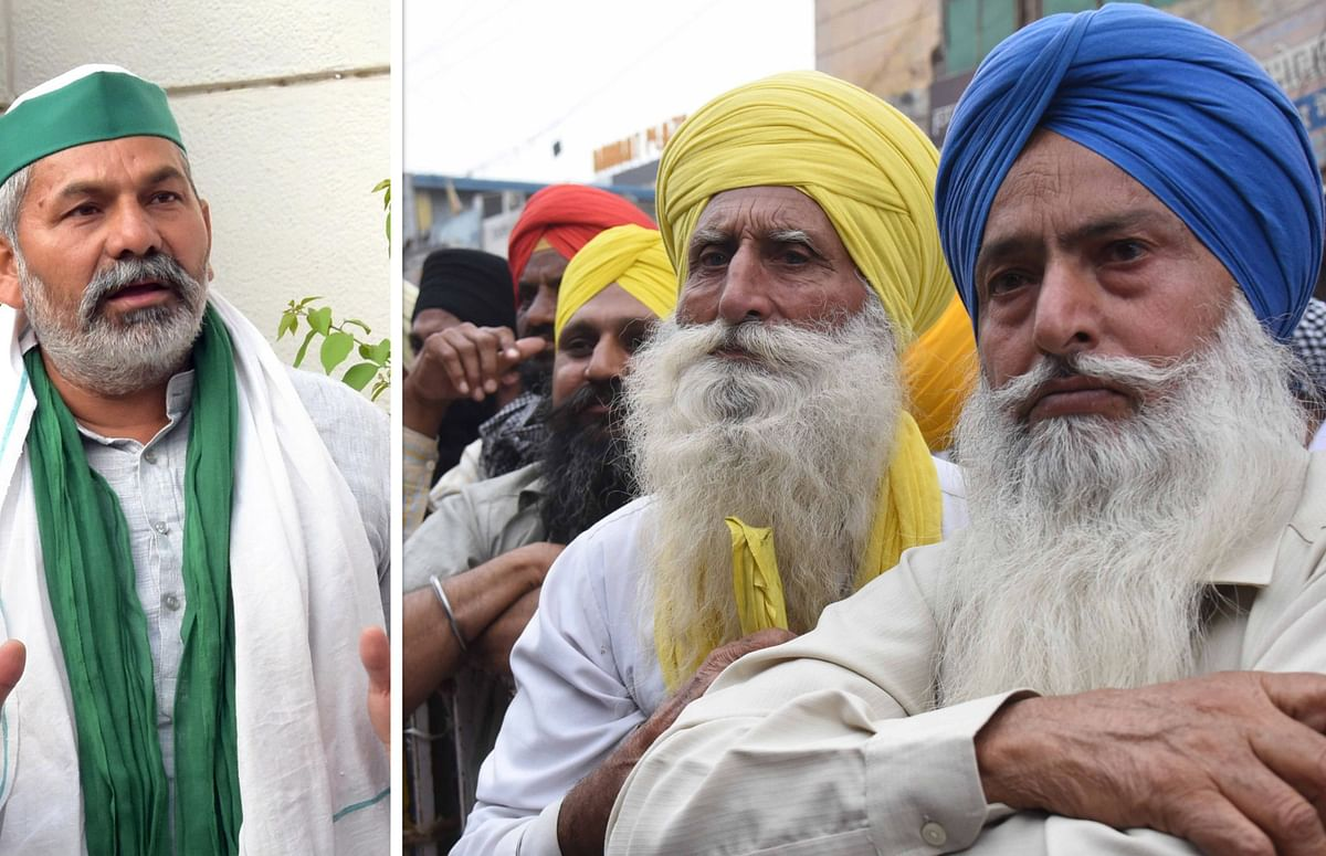 کسان یونینوں کا بھارت بند، ہم نے کوئی راستہ سیل نہیں کیا ہے: راکیش ٹکیت