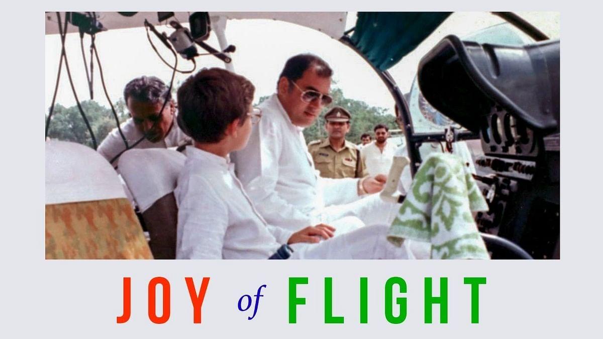 ویڈیو: راہل گاندھی نے بیان کیا والد راجیو گاندھی کے ساتھ فلائٹ میں سفر کا تجربہ