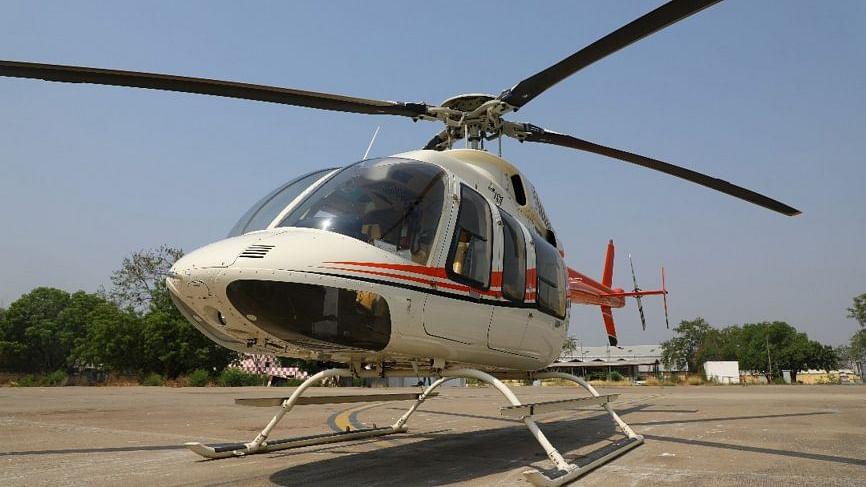 یوپی میں سیاحوں کی سہولت کے لئے ہیلی کاپٹر ٹیکسی چلانے کی تیاری