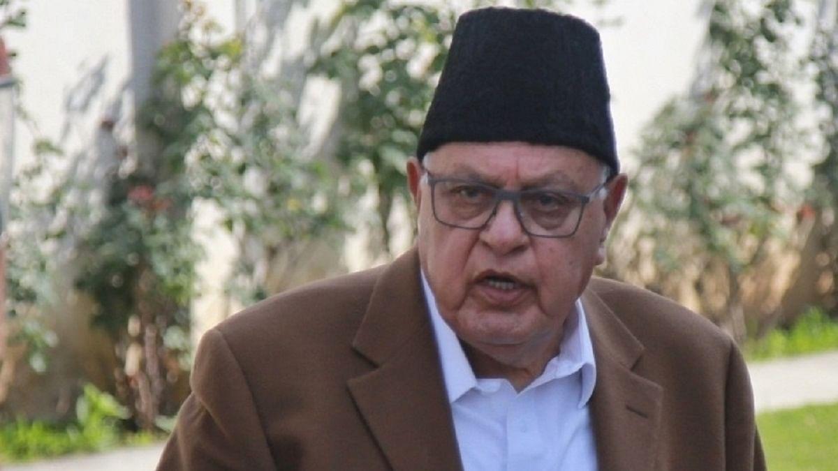 فاروق عبداللہ، تصویر آئی اے این ایس