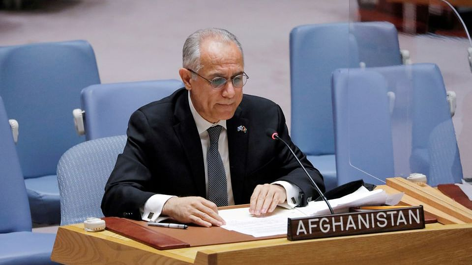 افغان نمائندہ اسحق زئی