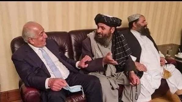 طالبان کو روکا جا سکتا تھا اگر اشرف غنی اچانک فرار نہ ہوتے۔ زلمے خلیل زاد
