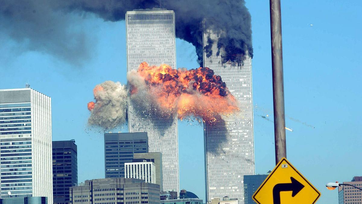 9/11 حملوں کا منظر / Getty Images