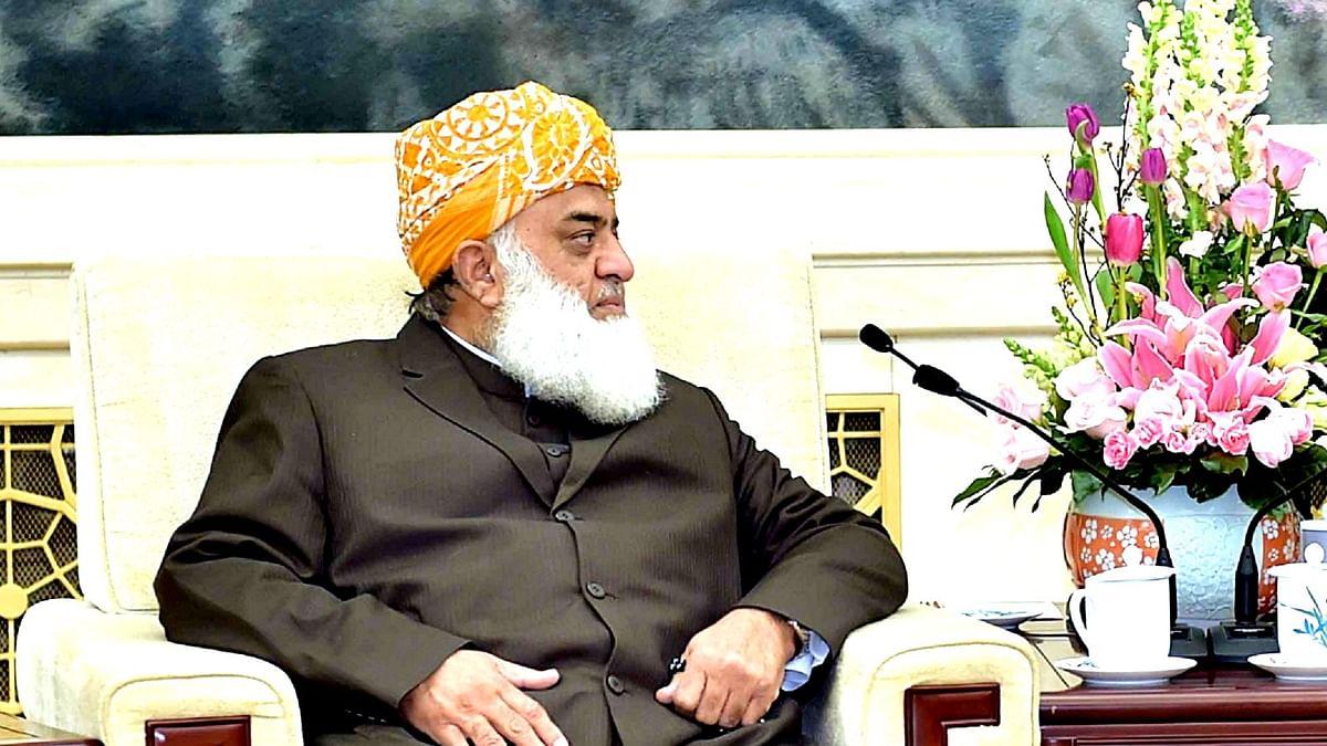مولانافضل الرحمن، تصویر آئی اے این ایس