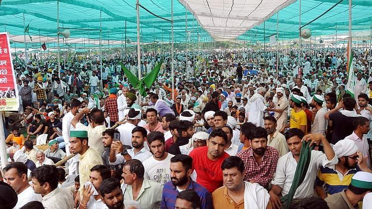 زرعی قوانین: انل گھنوٹ نے رپورٹ برسرعام کرنے کے لیے چیف جسٹس آف انڈیا کو لکھا خط
