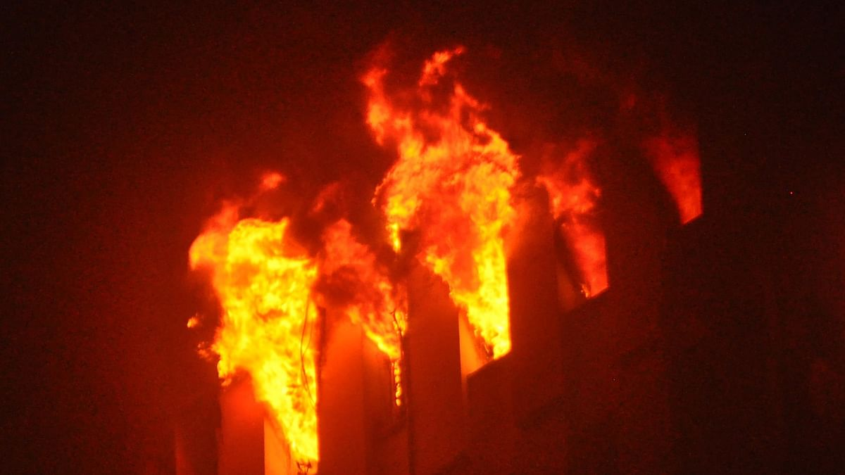 آگ، علامتی تصویر یو این آئی