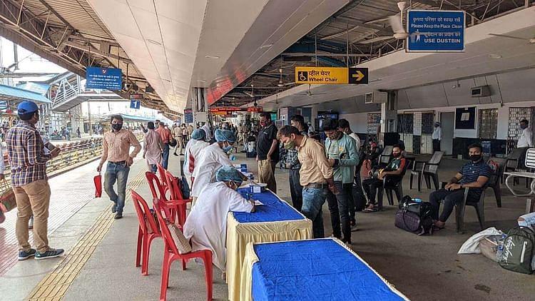 جھارکھنڈ: اچانک کورونا کیسز میں اضافہ، رانچی ریلوے اسٹیشن پر 55 مسافر ملے پازیٹو
