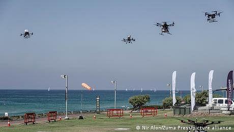 اسرائیل ڈرون ٹریفک جام کا حل؟