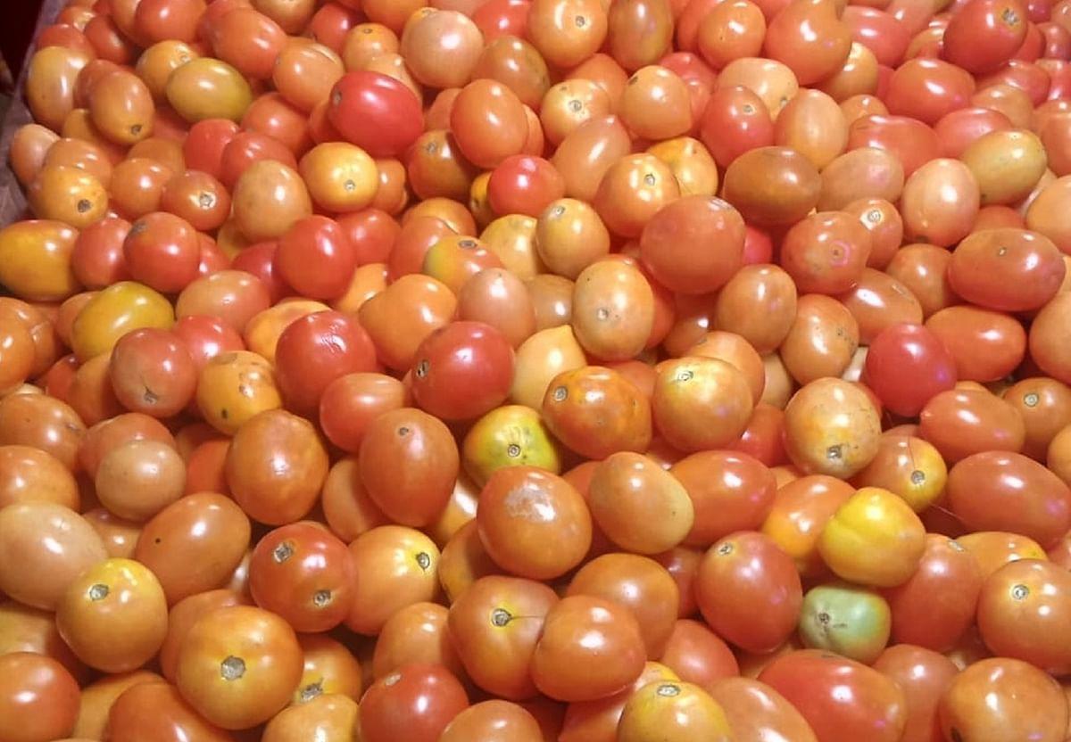 حیدرآباد: ٹماٹر اور پیاز کی قیمتوں میں ایک مرتبہ پھر اضافہ