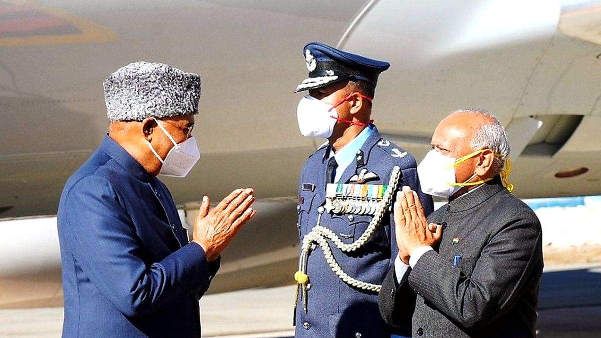 صدر جمہوریہ ہند رام ناتھ کووند، تصویر یو این آئی