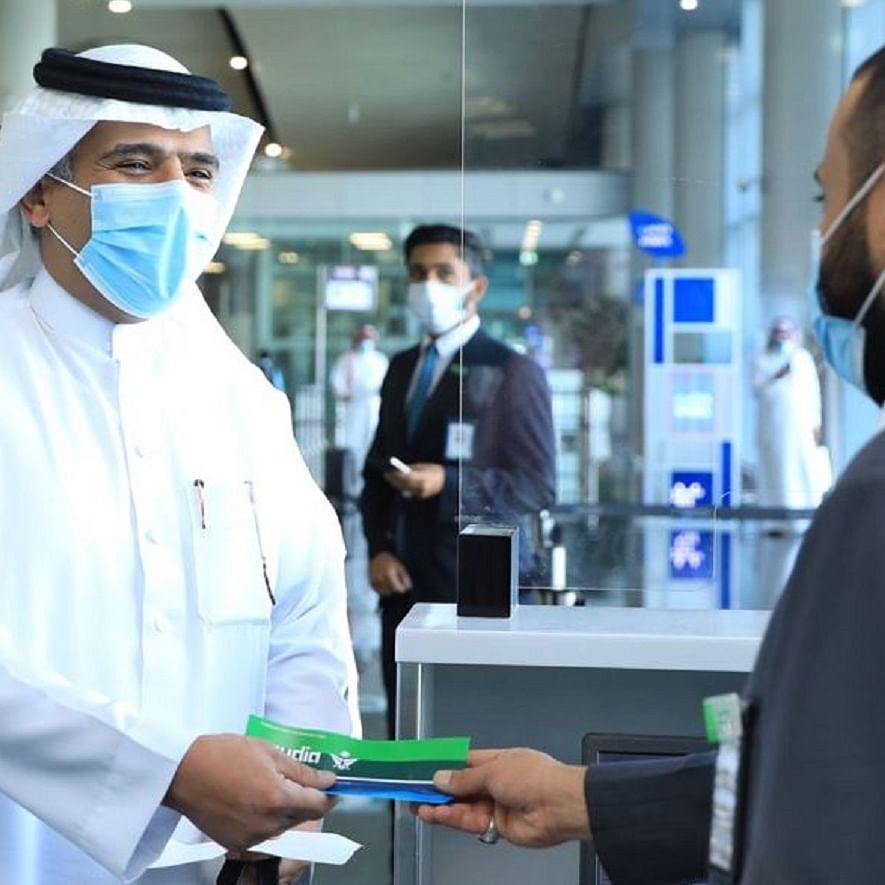 تصویر بشکریہ ٹوئٹر @Saudi_Airlines