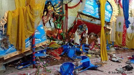 بنگلہ دیش میں مندروں کی توڑ پھوڑ پر بھارت کا اظہار تشویش