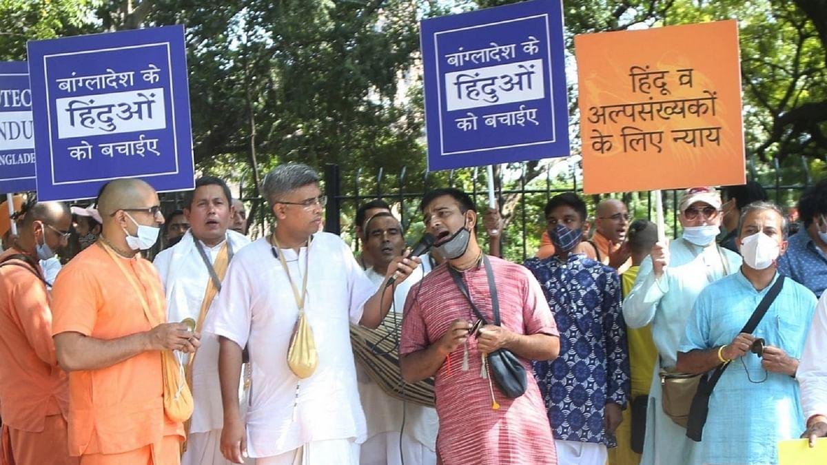 بنگلہ دیش میں فرقہ وارانہ تشدد کی مخالفت جاری، 89 تنظیموں کے ذریعہ 7 قرارداد پاس