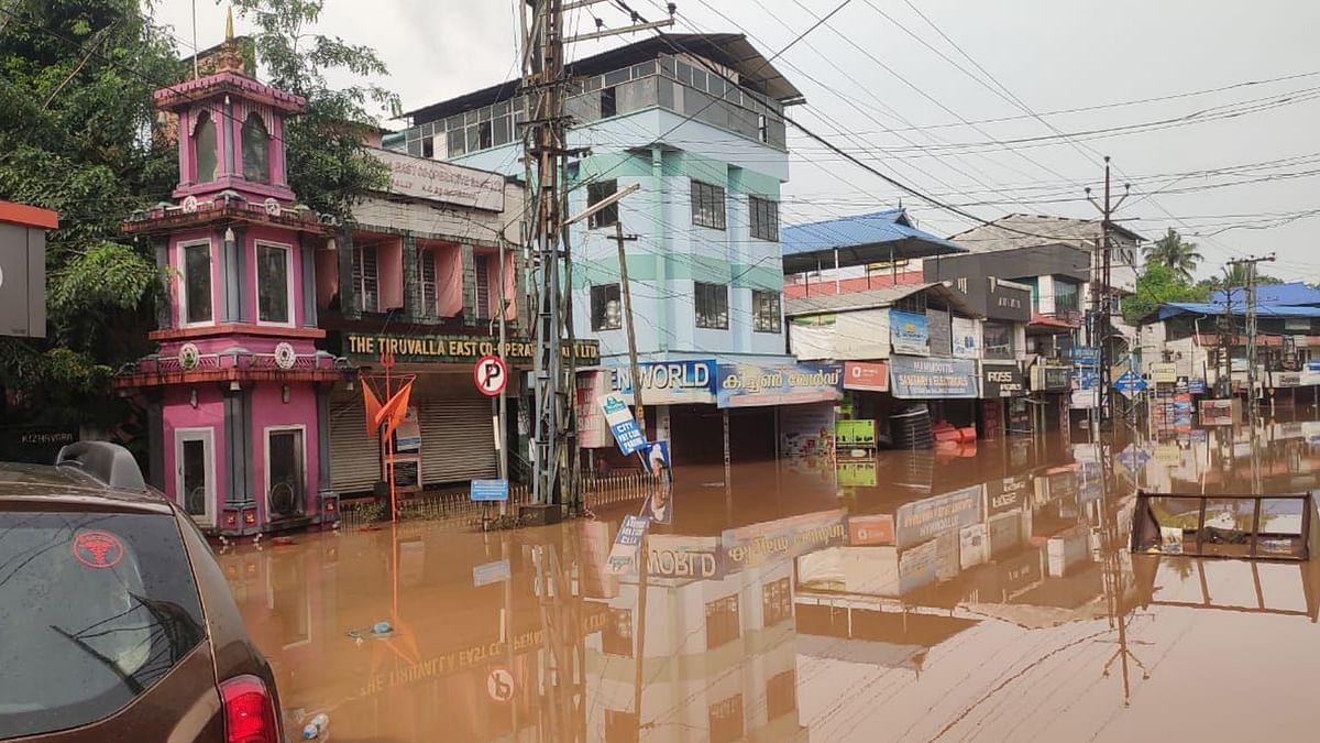کیرالہ میں سیلابی صورت حال / یو این آئی