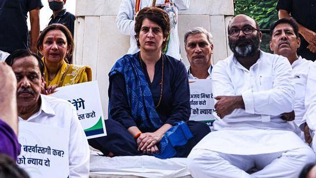 پرینکا گاندھی، تصویر ٹوئٹر@INCIndia