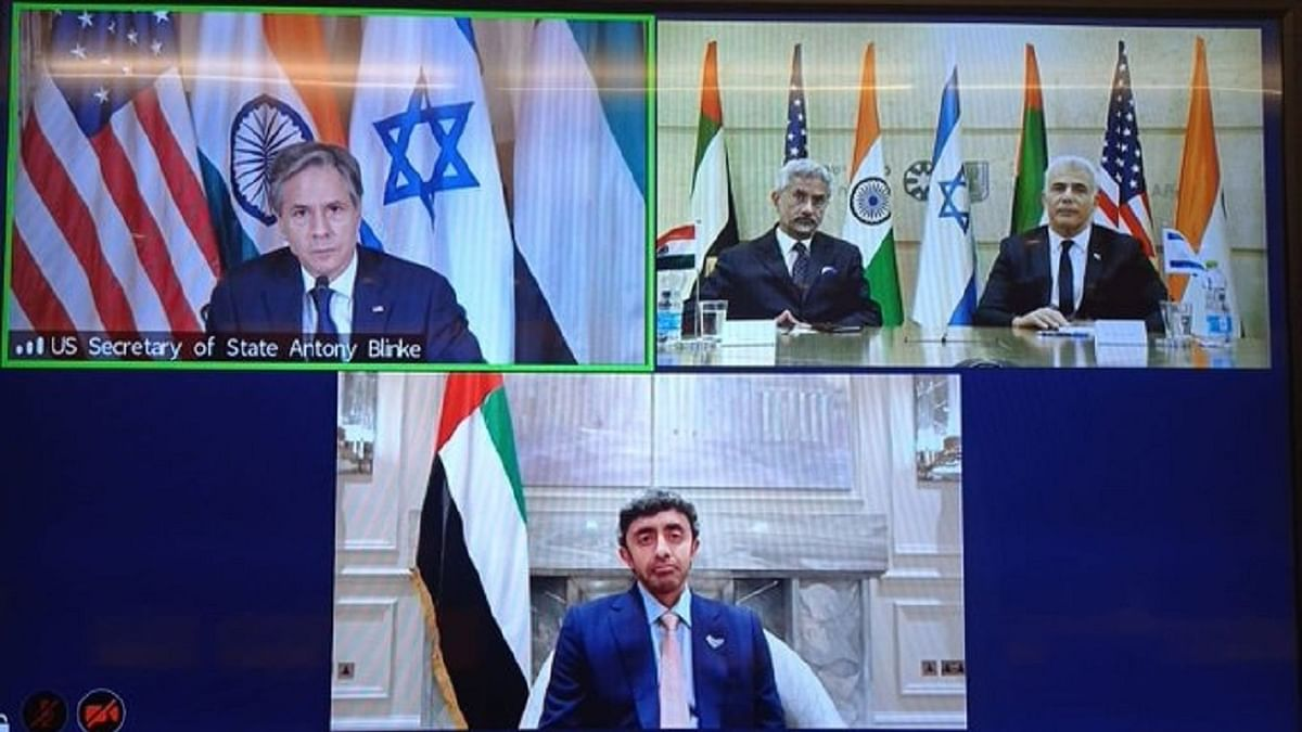 ہندوستان، امریکہ، اسرائیل اور متحدہ عرب امارات نے مل کر بنایا نیا گروپ