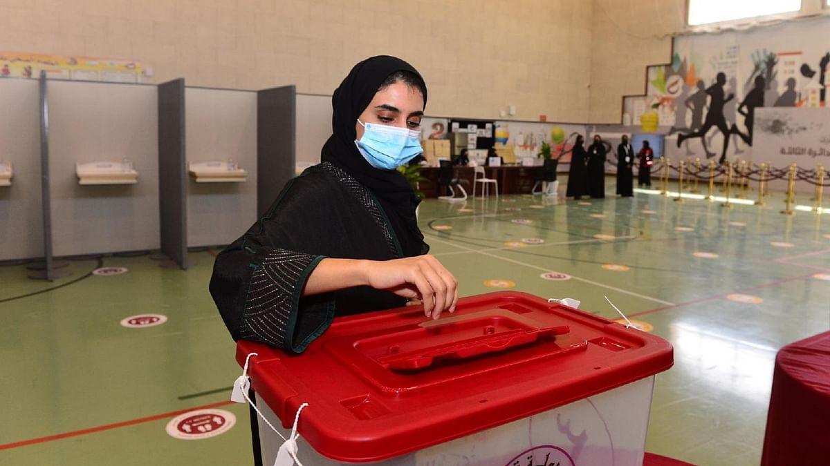 قطر انتخابات، تصویر بشکریہ ٹوئٹر @GulfTimes_QATAR