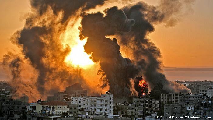 اسرائیلی فضائی حملوں میں فلسطینی اموات کی تعداد 67 ہوئی، 17 بچے شامل