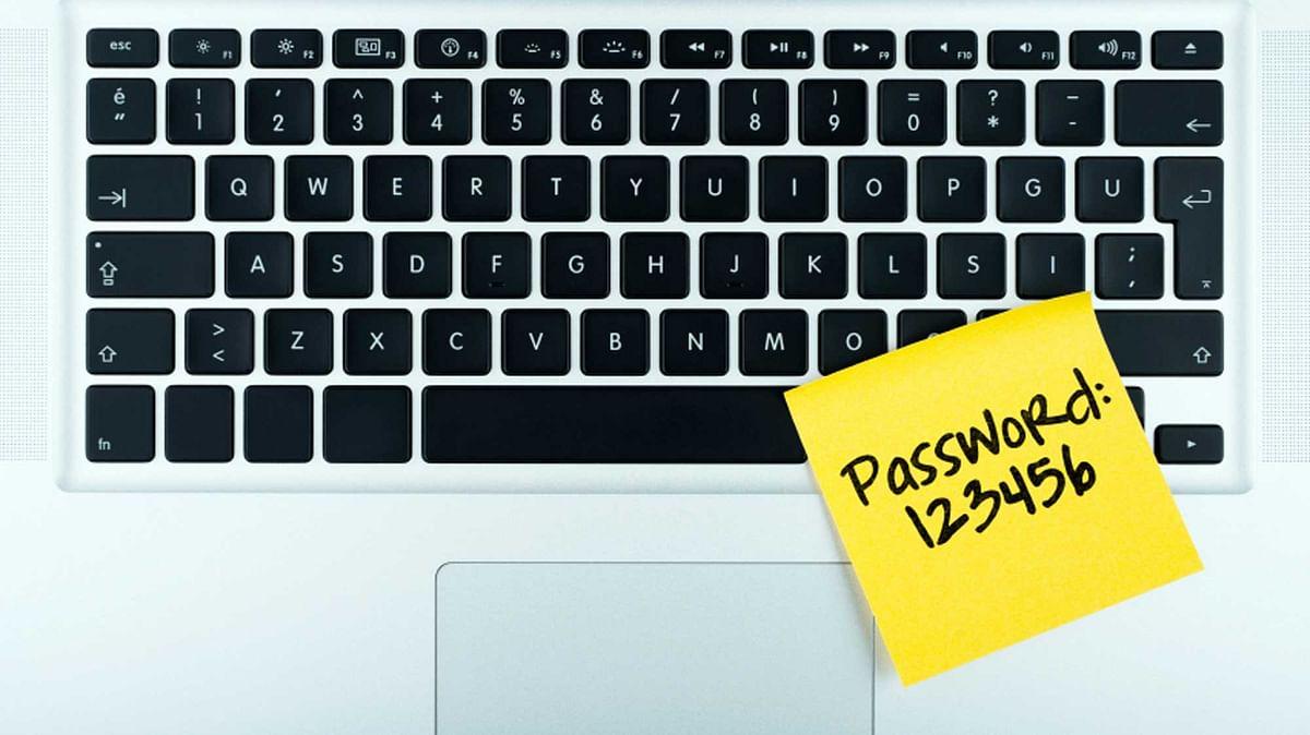 विश्व का सबसे ज्यादा इस्तेमाल होने वाला पासवर्ड 123456 है (फोटोः iStock)