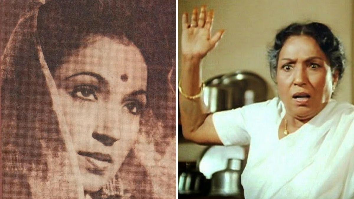 ललिता पवार को बॉलीवुड की 'सबसे बुरी सास' के तौर पर जाना जाता है