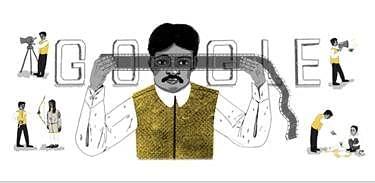 दादासाहेब फाल्के की 148वीं जयंती पर गूगल का डूडल
