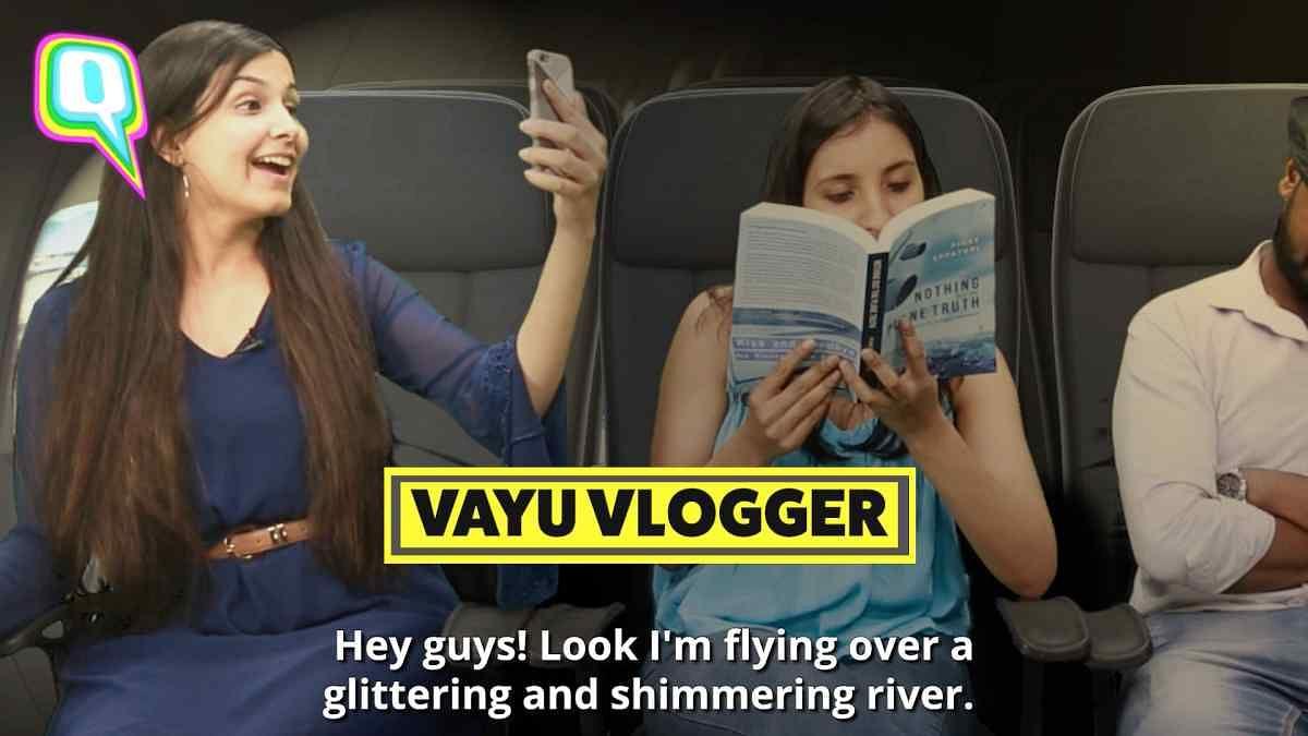 फ्लाइट में फोन और इंटरनेट के साथ ऐसे यात्री भी मिल गए तो!