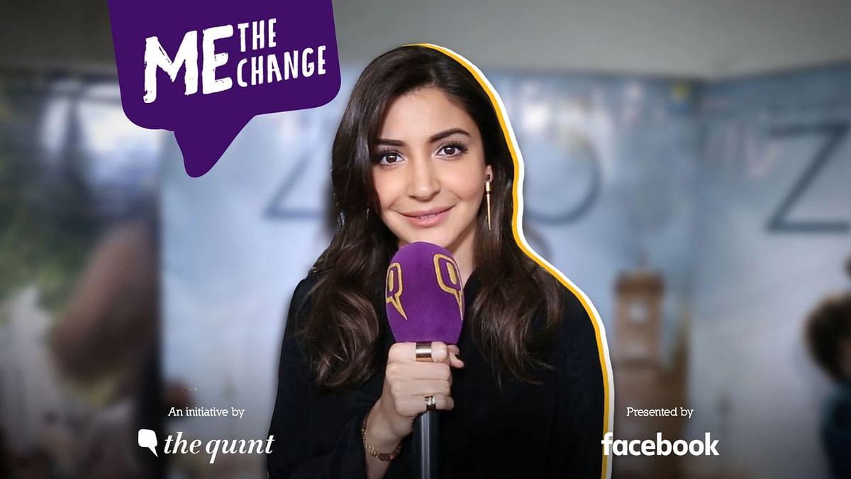 अनुष्का शर्मा का मानना है कि एक महिला का वोट उसका वो अधिकार है, जिससे बदलाव मुमकिन है.
