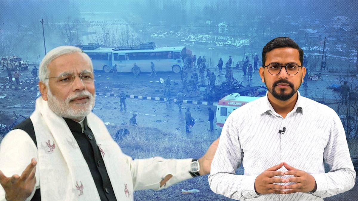 पुलवामा आतंकी हमले के दिन देश के पीएम नरेंद्र मोदी कहां थे?