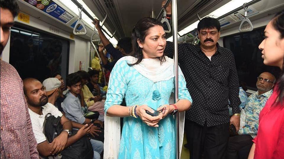 प्रिया दत्त ने चुनाव न लड़ने का फैसला  क्यों बदला, खास बातचीत