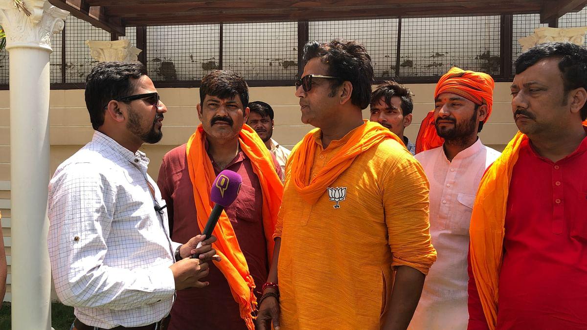 गोरखपुर के चुनावी मैदान से रवि किशन का लाइट, कैमरा, एक्शन...