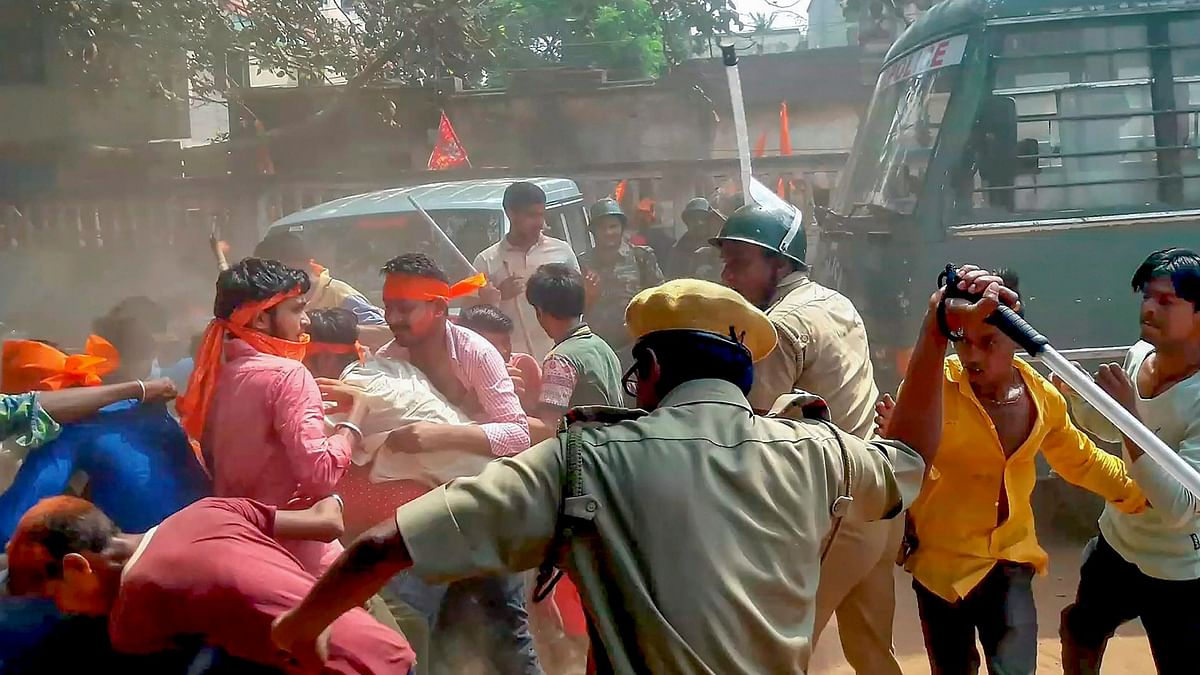 बंगाल में राजनीतिक हिंसा नहीं, हिंसा की राजनीति हो रही है